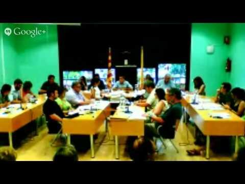 Ple Municipal Molins de Rei juliol 2014