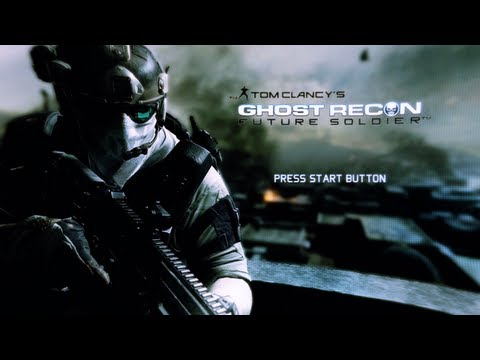 Ghost Recon Future Soldier Beta (Multiplayer Beta Gameplay Xbox 360)