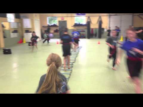 Martial Arts Athlete Warm-Up