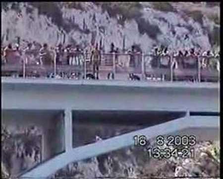 Tuffo dal Ponte Ciolo