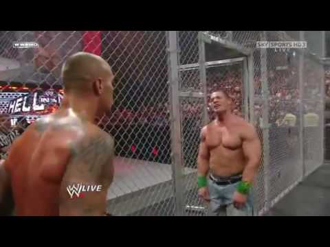 WWE Raw 28 09 09 John Cena vs Jericho Big Show and Randy 1 2