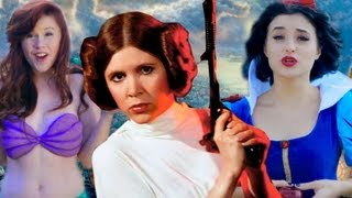 Disney Princess Leia - Stars Wars Disney Princesses! view on rutube.ru tube online.
