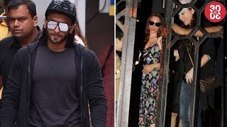 Ranveer Spotted Outside His Gym | Iulia Spends Quality With Her Sister - ZOOMDEKHO