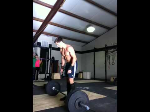 Jason Hoggan crossfit open -- 12.2 -- 82 reps