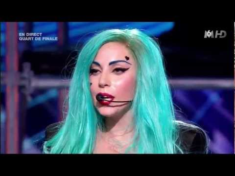 Lady Gaga The Edge of Glory Judas X FACTOR France