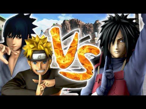 J-Stars Victory VS : Naruto & Sasuke Vs Madara | Vidéo Bonus