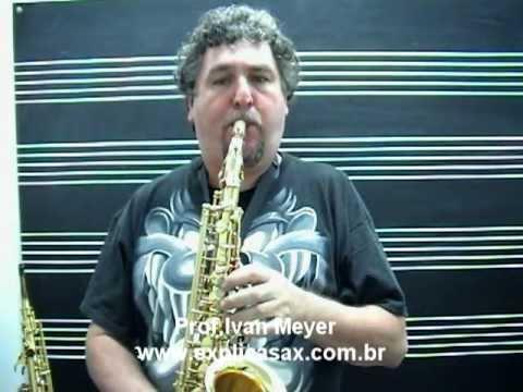 SAX ALTO CONDUCTOR CUSTOM by IVAN MEYER COM NOTA FISCAL E GARANTIA