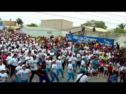 Wilson Dance Show - Salinas 2000 personas bailoterapia