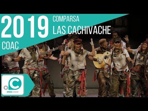 La agrupación Las cachivache llega al COAC 2019 en la modalidad de Comparsas. En años anteriores (2018) concursaron en el Teatro Falla como Las irrepetibles, consiguiendo una clasificación en el concurso de Cuartos de final.
