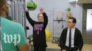How to work out like 'Notorious RBG' - WASHINGTONPOST