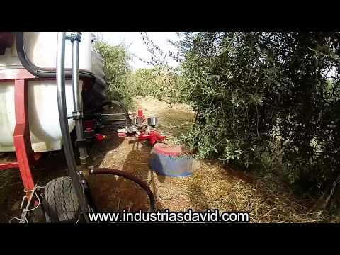 In-Row Herbicide applier /Equipo aplicador herbicidas