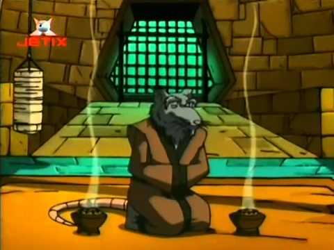 """TMNT PL Wojownicze Zółwie Ninja 2003 - """"Wojna Światów"""" -  S03E05 [1/3]"""
