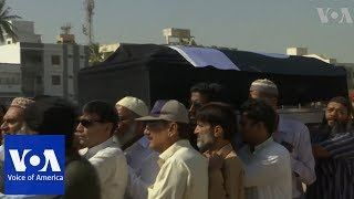 Funeral prayers in Karachi, Pakistan for the victim in US school shooting - VOAVIDEO