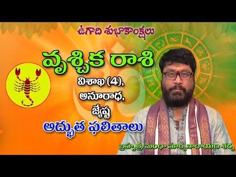 వృశ్చిక రాశి | vruschika raasi | Hevilambi | Ugadi Rasi Phalalu | Telugu Astrology | Rasi Phalalu