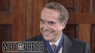 Flashback 1997: Bob Dole Cracks Jokes During White House Medal Ceremony | Meet The Press | NBC News - NBCNEWS