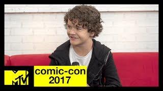 Stranger Things' Gaten Matarazzo on Season 2 & Marvel Fan Theories | Comic-Con 2017 | MTV - MTV
