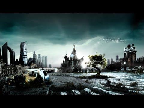 Урок Фотошопа: Заброшенная Москва после апокалипсиса