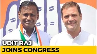 BJP Lawmaker Udit Raj, Dropped From Candidates' List, Joins Congress - NDTV