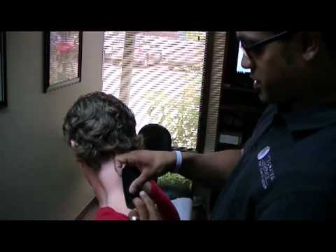 Neck Kinesio Taping by Silverdale's Dr. Sean Joseph of Integrated Chiropractic