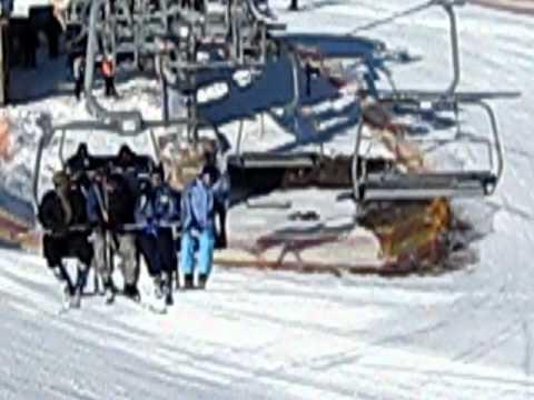 Снігові пушки у Водяниках 17 лютого
