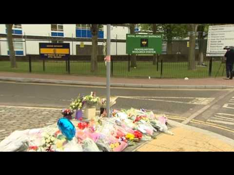 Tributes paid to Drummer Lee Rigby of 2RRF 23.05.13