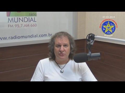 Caminhos da Consciência - Nilton Schutz em 07/03/2015 falando sobre o potencial de vibração da Terra