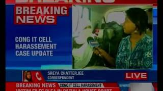 Congress IT harassement case update; victim asks for court monitored probe - NEWSXLIVE