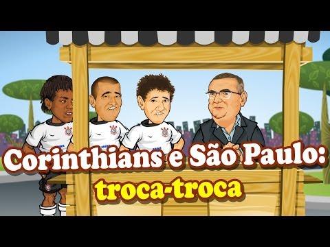 Corinthians e São Paulo: troca-troca - ANIMATUNES