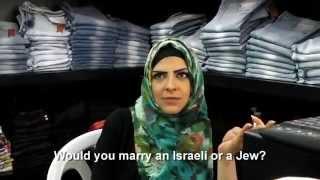 Pregunta a palestinos ¿te casarías con un judío?