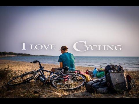 I travel by bike (cycling documentary)