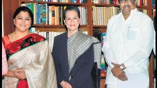 Actress Kushboo joins Congress party