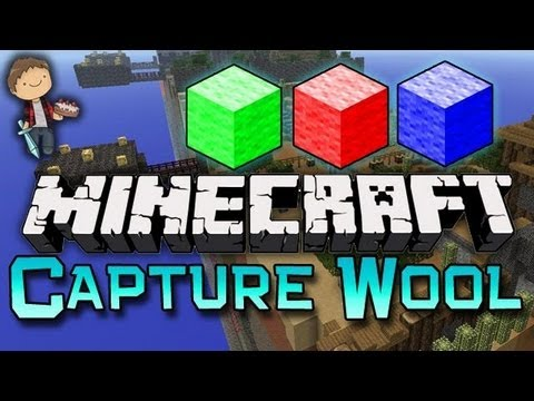 Minecraft: Capture The Wool Mini-Game w/Mitch & Friends! Game 3 of 3!
