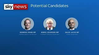 Who could replace Theresa May as leader of the Conservative Party? - SKYNEWS