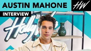 Austin Mahone Gives Us Dating Advice & Reveals His Celebrity Crush!! | Hollywire - HOLLYWIRETV