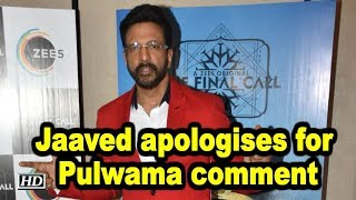 Jaaved Jaaferi apologises for Pulwama comment - BOLLYWOODCOUNTRY