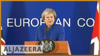 🇬🇧In desperate attempt to save Brexit deal, May heads to Europe | Al Jazeera English - ALJAZEERAENGLISH
