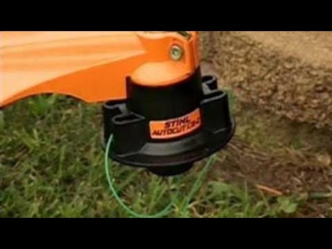 How to Wind a STIHL Trimmer Head