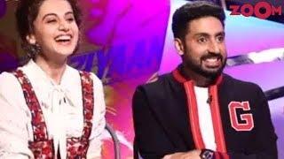 Abhishek & Taapsee To Work Together Again After 'Manmarziyaan'!   Bollywood News - ZOOMDEKHO