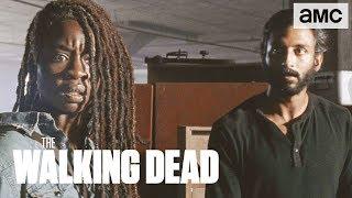 'Michonne's Journey of Trust' Inside of Ep. 907 BTS   The Walking Dead - AMC