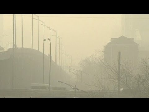 Smog-Alarmstufe Orange: Dicke Luft in Peking