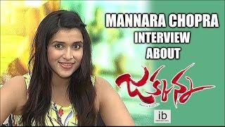 Mannara Chopra interview about Jakkanna - idlebrain.com - IDLEBRAINLIVE