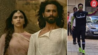 'Padmaavat' Gets Approval From SC   Ranveer Singh Spotted Outside A Dance Class - ZOOMDEKHO