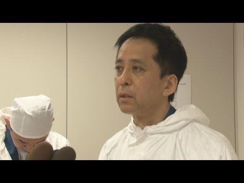 深い傷痕むき出し 福島第1原発高橋毅所長 原子炉安定している