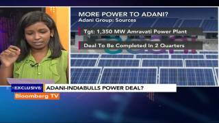 Newsroom- Adani-Indiabulls Power Deal? - BLOOMBERGUTV