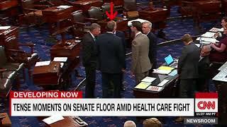 Tension on Senate floor amid health care fight - CNN