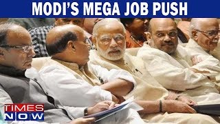 Mega job push on the cards by Modi government ahead of 2019 elections - TIMESNOWONLINE