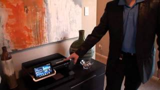 A tour of the HP Smart Home at the Cupertino Campus