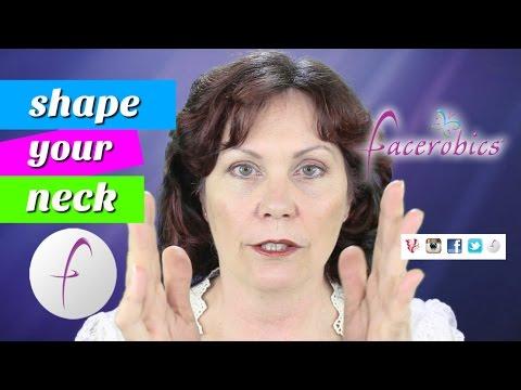 Remove Your Neck Wrinkles Turkey Neck & Shape Your Neck Remove Neck Bands on Neck   FACEROBICS®