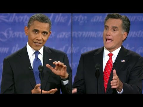 First Presidential Debate: Obama vs. Romney (Complete HD)