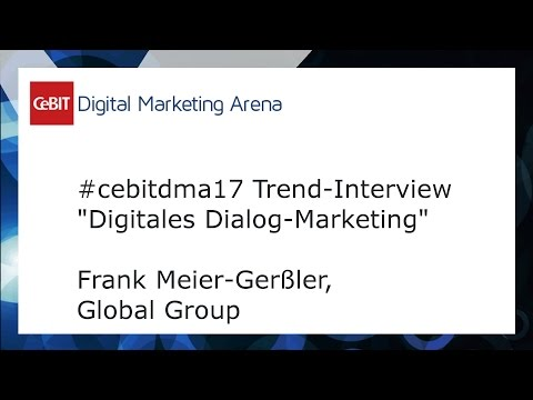 #cebitdmx17 Interview Frank Meier-Gerßler, Global Group